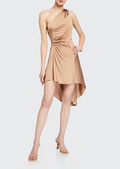 Mellie One-Shoulder High-Low Dress