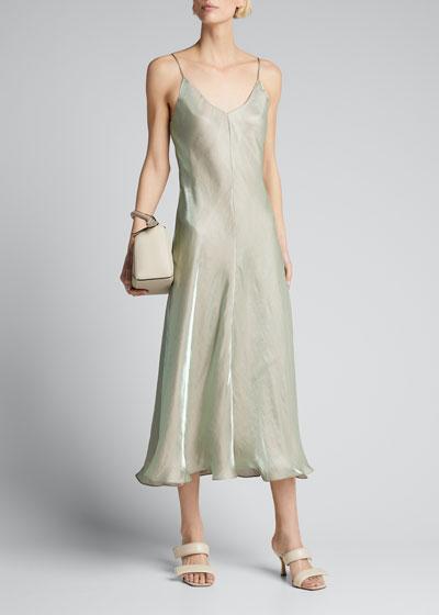 Iridescent Cami Slip Dress
