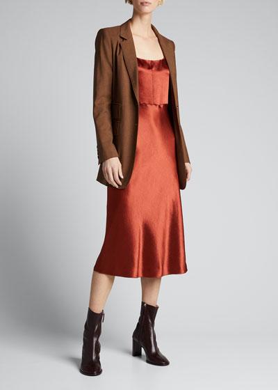 Slim Fitted Slip Dress