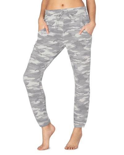 Living Easy Printed Sweatpants