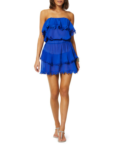 Garcia Ruffled Coverup Dress