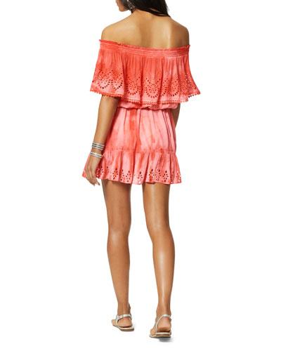 Marino Eyelet Coverup Dress