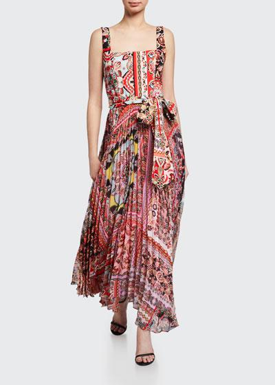 Deona Pleated Dress