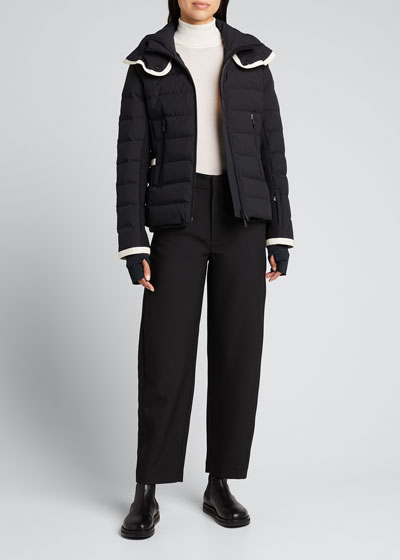 Lamoura Contrast-Trim Technical Ski Jacket