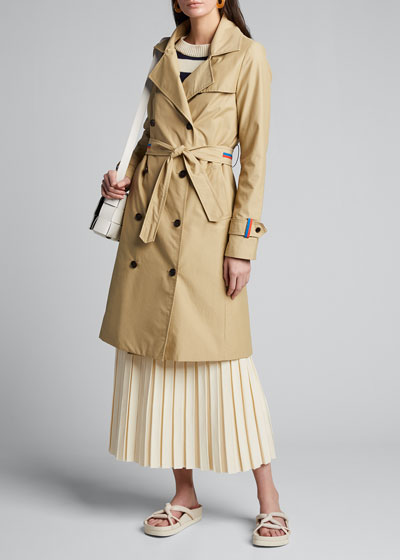 The Roxbury Belted Trench Coat