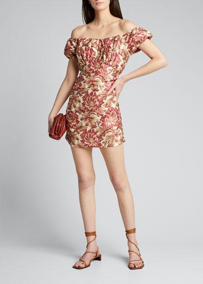 Valetta Off-Shoulder Mini Dress