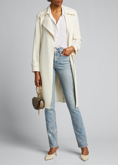 Holly High-Rise Straight Jeans