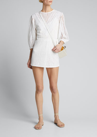 Involve Lace Mini Dress