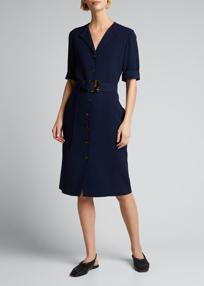 Wolfe Finesse Crepe Dress