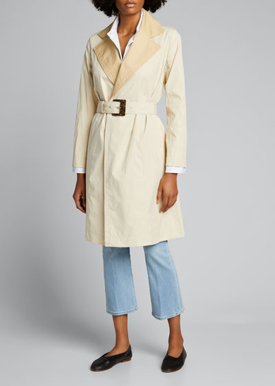 Rosemont Eclipse Outerwear Reversible Trench Coat