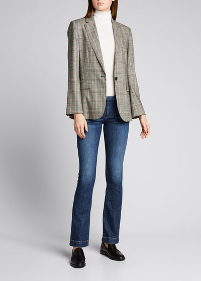 Le Serge Fit-and-Flare Trousers
