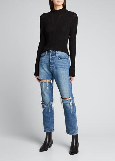 Le Original Distressed Jeans