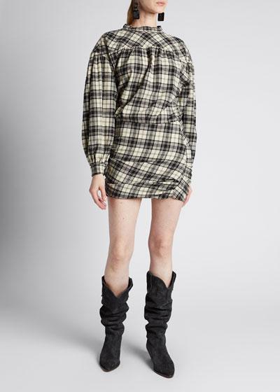 Faber Paisley One-Shoulder Dress