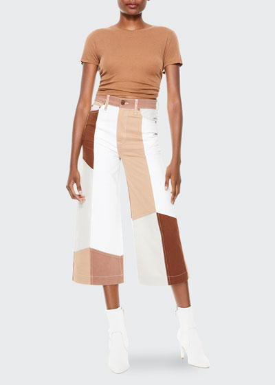 Gorgeous Cropped Gaucho Pants
