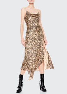 Rebecca Taylor Bib Dress -  Dresses -  Bergdorf Goodman :  rebecca taylor stand up collar satin trim bib dress