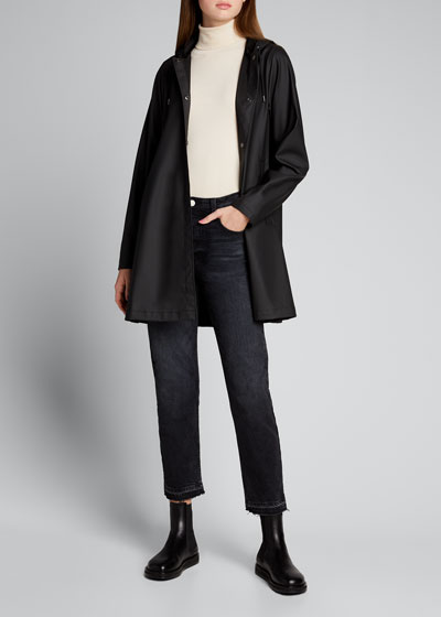 Hooded A-Line Raincoat