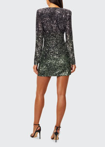 See by Chloe Scallop-Print Dress -  Mini -  Bergdorf Goodman
