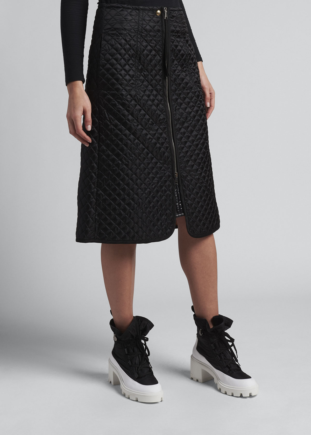 Moncler Genius 2 MONCLER 1952 DIAMOND-QUILT SKIRT