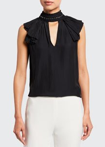 3.1 Phillip Lim Open-Back Shift Dress -  Mini -  Bergdorf Goodman