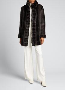 Rebecca Taylor Combo Dress- Dresses- Bergdorf Goodman