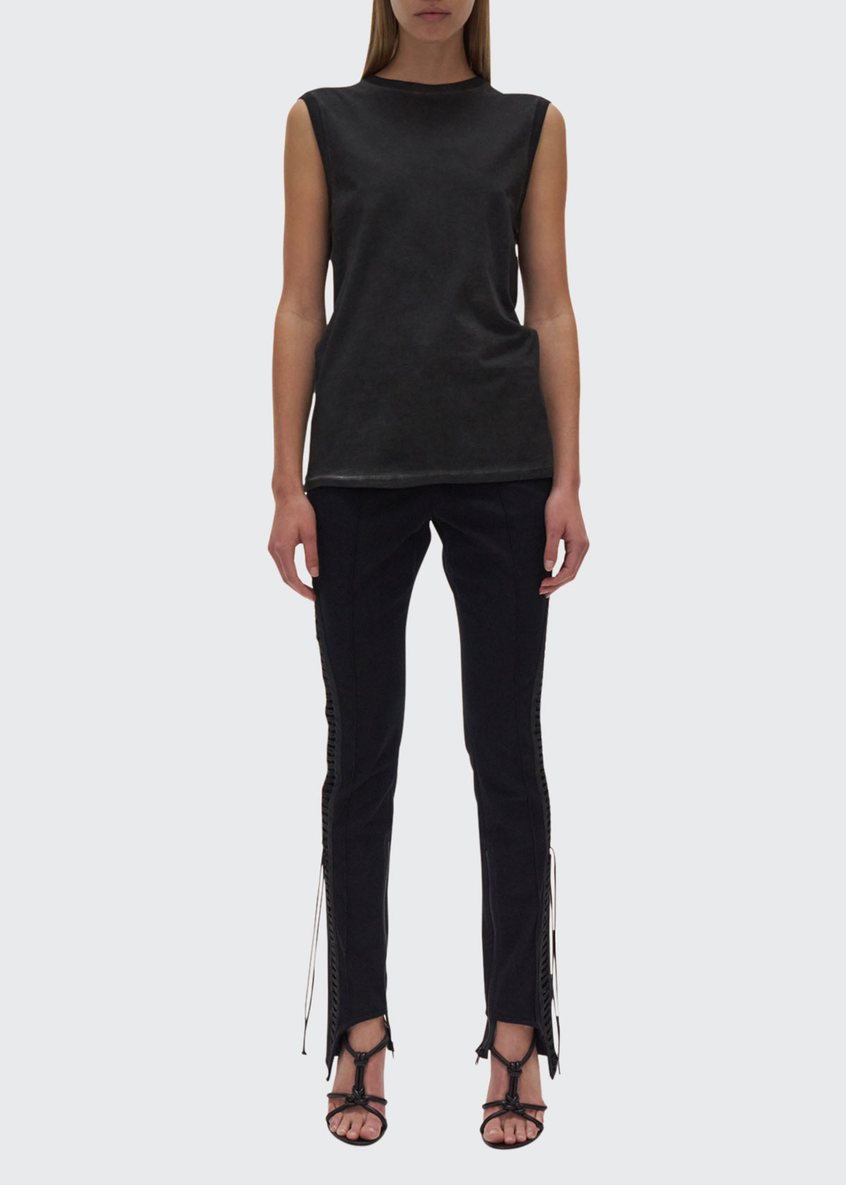 Helmut Lang COTTON MUSCLE TEE