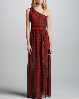Pamela One-Shoulder Maxi Dress