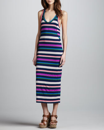 Smash Striped Maxi Dress