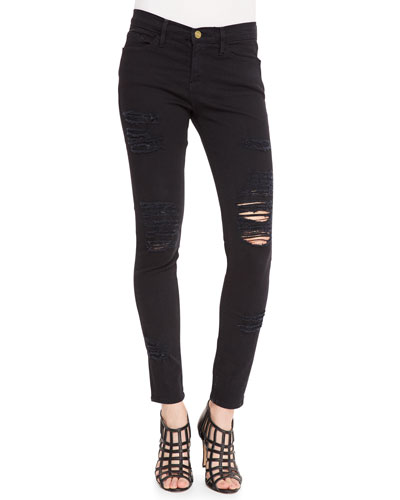 Le Color Rip Skinny Jeans, Film Noir