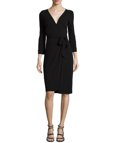 New Julian Two Matte Jersey Wrap Dress