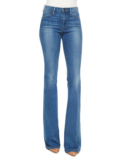 Le Karlie Forever Flare Jeans, Linden