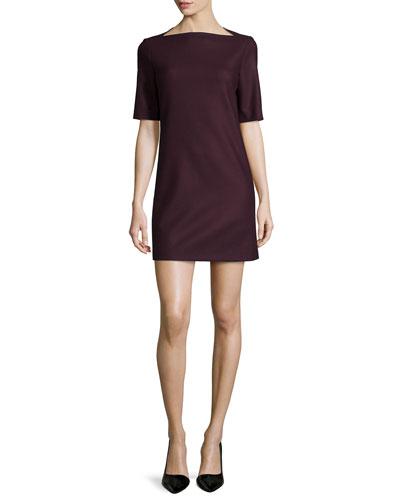 Harkin Half-Sleeve Shift Dress