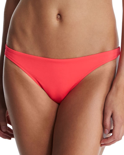 Italian Medi Solid Hipster Swim Bottom