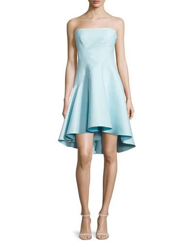 Strapless Structured Dress, Foam