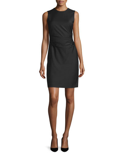 Jorianna W. Continuous Sheath Dress, Black