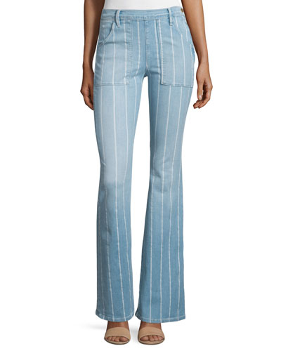 Le Flare de Francoise Striped Jeans, Barrin