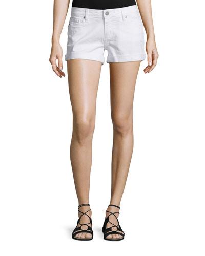 Jimmy Jimmy Denim Shorts, Optic White