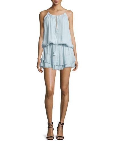 Kenji Sleeveless Mini Dress, Dew