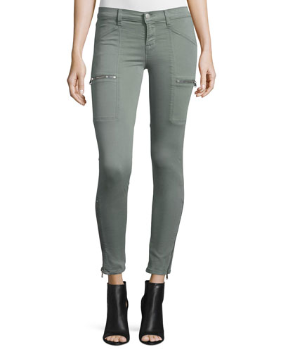 Kassidy Skinny Ankle Jeans, Greenfield