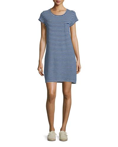 Courtina Striped T-Shirt Dress