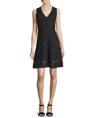 Jemoine Embroidered Linen Dress