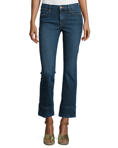 Le High Cuffed Ankle Jeans, Ardmore