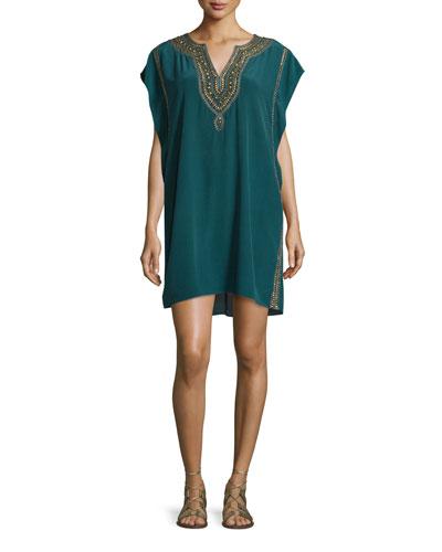 Elliot Embellished Caftan Dress