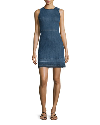 Raneid D Released-Hem Denim Dress
