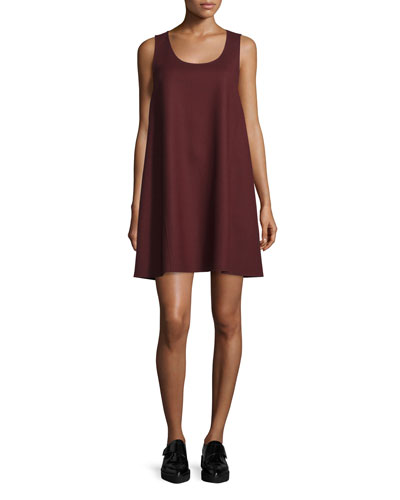 Kestel DF Saxton Sleeveless Shift Dress, Garnet
