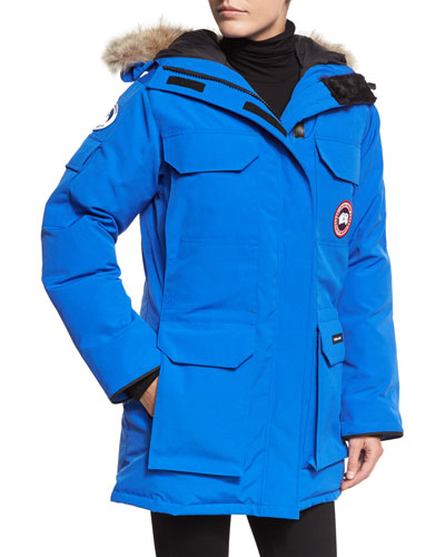 PBI Expedition Hooded Parka, Royal Blue