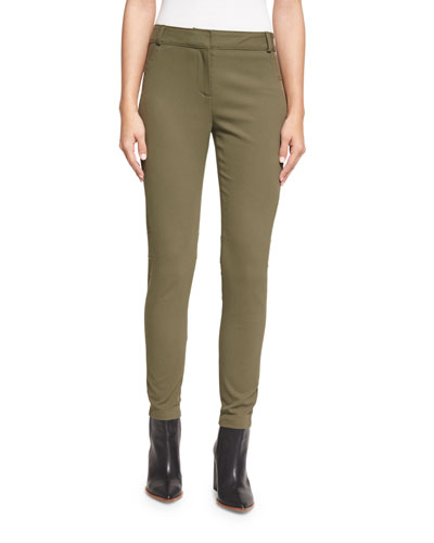 Blossom Biker Pants, Army Green