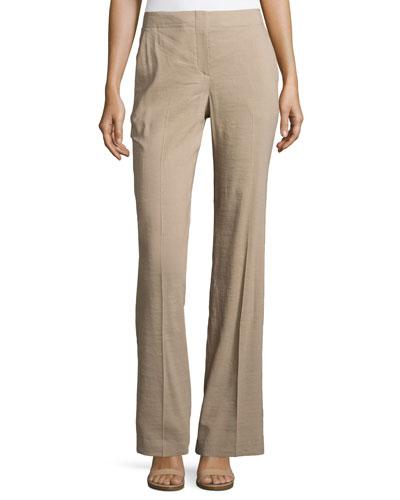 Alldrew Crunch Flare-Leg Pants, Warm Cocoon