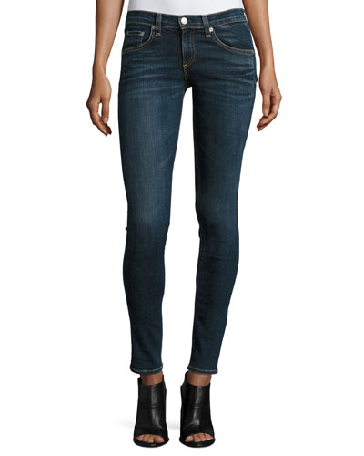 Low-Rise Skinny Jeans, Phoenicia