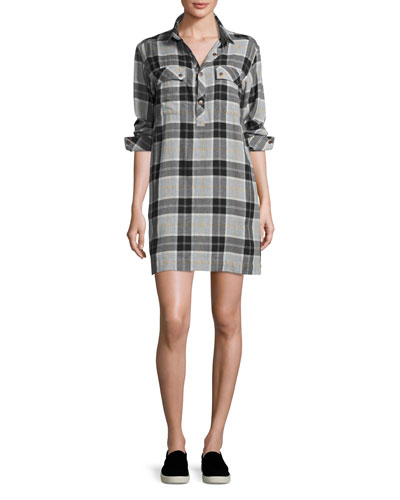 The Lara Shirtdress, Foxworth Plaid