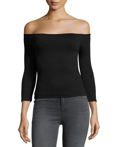 Donna Off-the-Shoulder Top